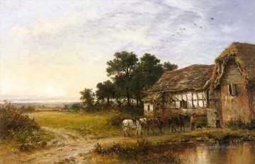 Returning Home Benjamin Williams Leader Oil Paintings
